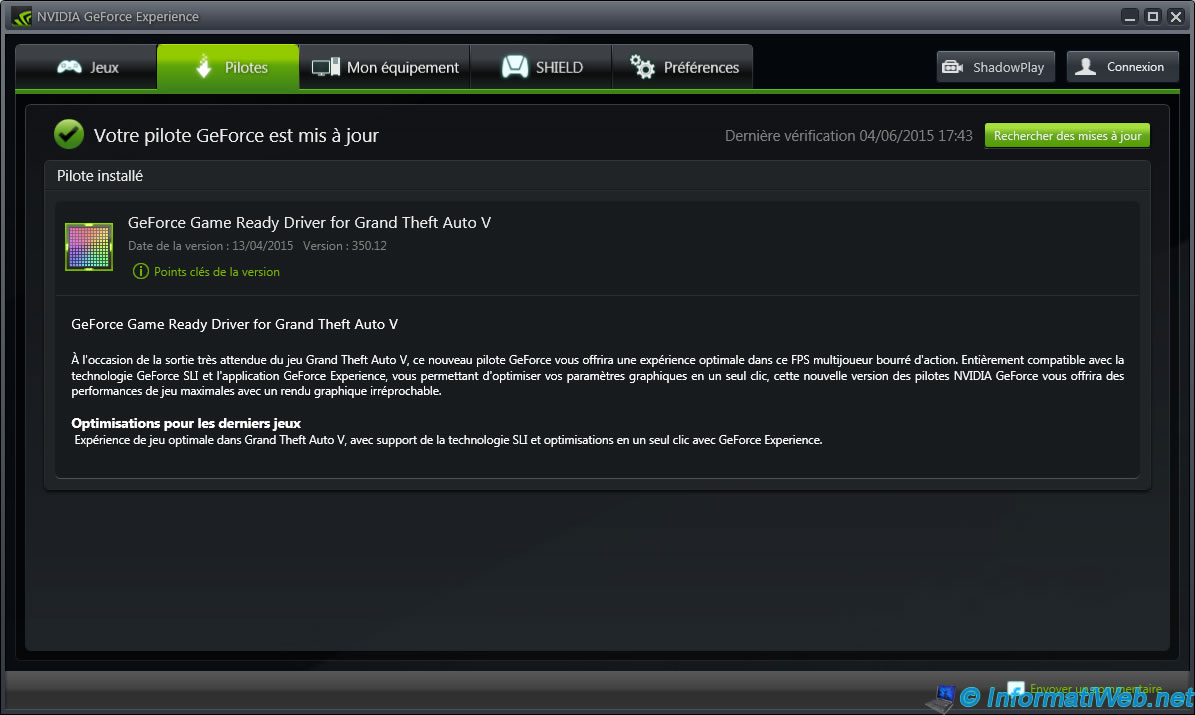 Optimize GTA V, GTA IV and your other games with Nvidia