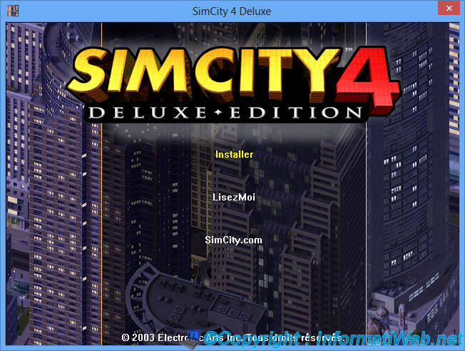SimCity 4 (Deluxe Edition) - Installation under Windows 8