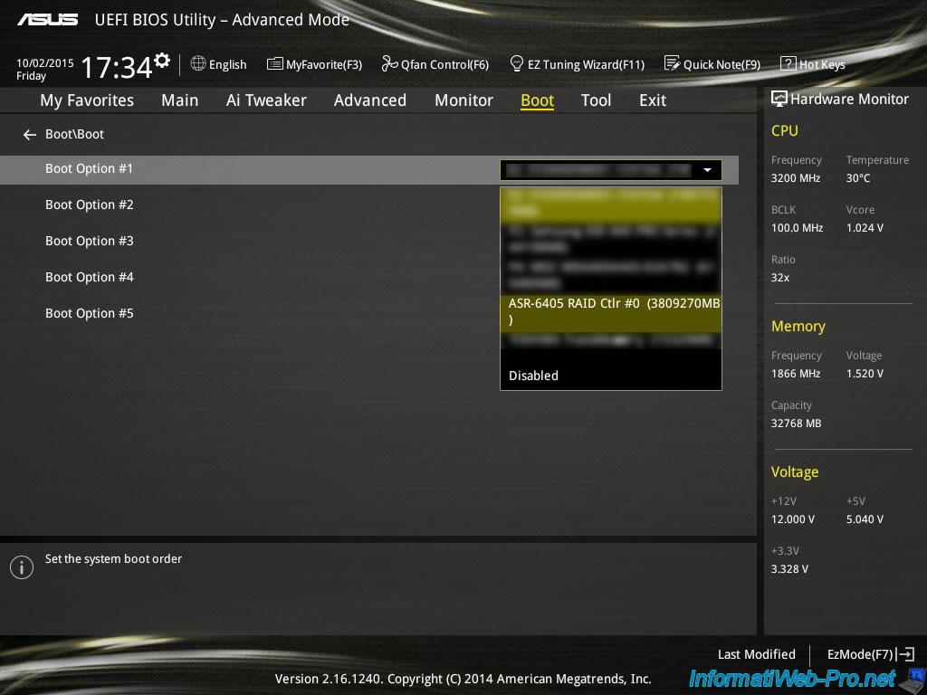 Create and configure a RAID 0, 1, 5,     (Adaptec) - Page 2 - BIOS