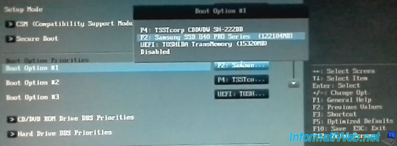 Flash (update) the BIOS of an Asus motherboard with EZ Flash