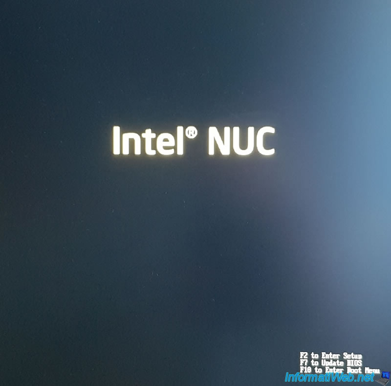 Flash (update) the BIOS of your Intel NUC Skull Canyon