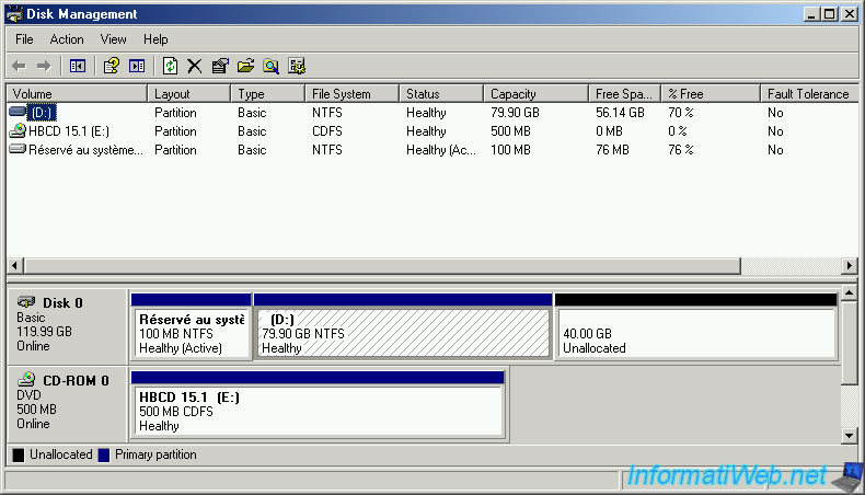 Hiren Boot CD - Mini Windows Xp - Articles - InformatiWeb