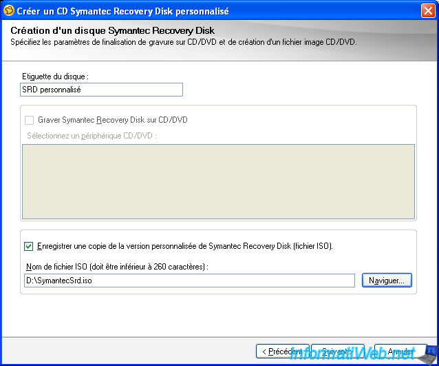 symantec recovery disk iso image
