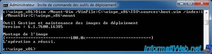 Windows PE - Create a Windows PE 3 0 (or 3 1) image - Windows