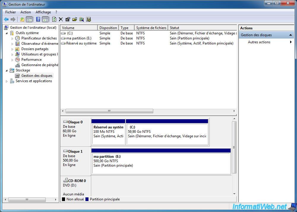 Le partitionnement d'un disque dur est important car il vous permet séparer vos données en Lorsque vous installez un système d'exploitation sur votre disque dur, le programme d'installation marque la Alors, comment choisir cette valeur ? Et bien, pour répondre brièvement, plus vos fichiers sont...