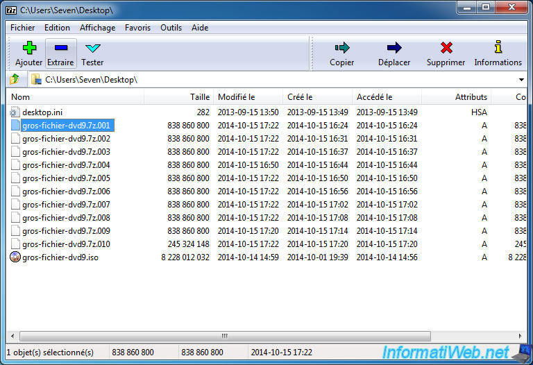 Split big files with 7-Zip or WinRAR - Miscellaneous