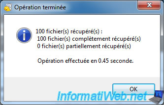 Data recovery with Recuva - Windows - InformatiWeb