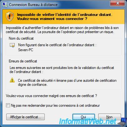 Take control of a computer over Remote Desktop RDP Windows