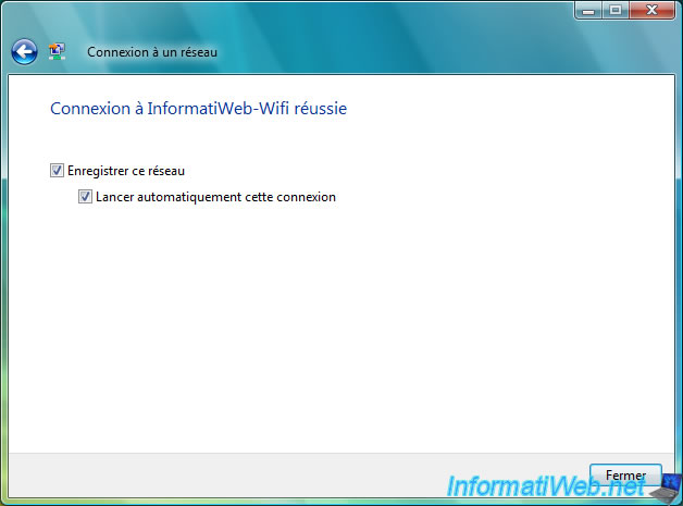 how to connect windows vista to wifi