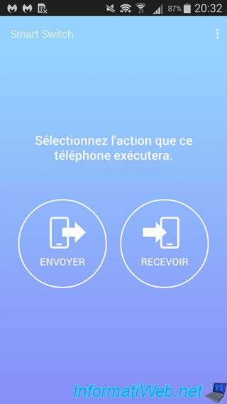 Samsung Smart Switch Mobile - Transférez rapidement vos