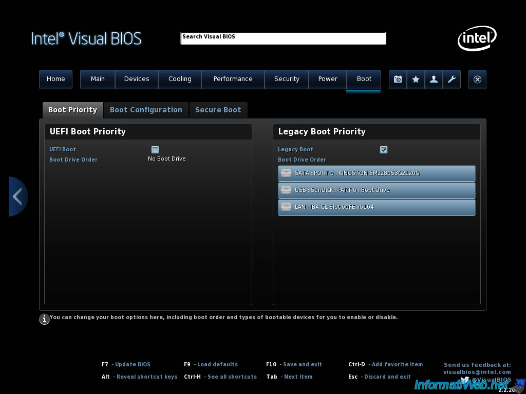 Intel NUC Skull Canyon (NUC6i7KYK) - Install Windows 7 (with the