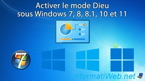 Activer le mode Dieu de Windows