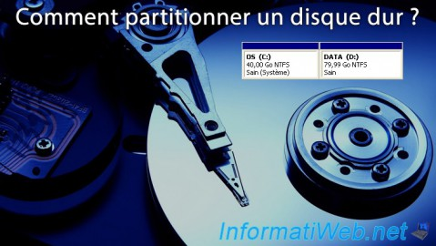 Comment partitionner un disque dur ?