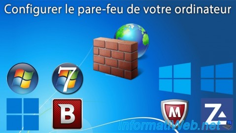 Configurer le pare-feu Windows et celui des solutions Internet Security