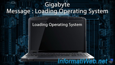 Gigabyte - Message Loading Operating System
