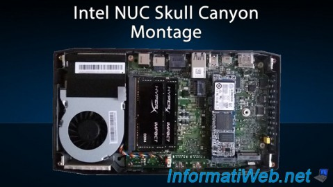 Intel NUC Skull Canyon - Montage