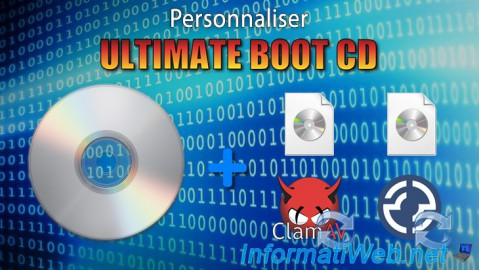UBCD - Personnaliser Ultimate Boot CD