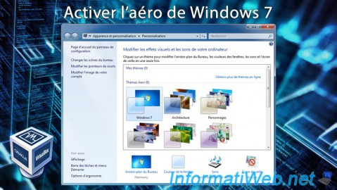 VirtualBox - Activer l'aéro de Windows 7