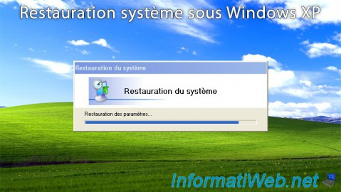 Windows XP - Restauration système