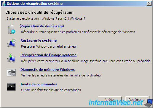 Utilitaire De Restauration Windows