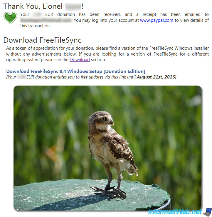 How to backup your data and presentation of FreeFileSync - Page 2
