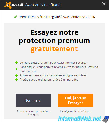 can you renew avast free