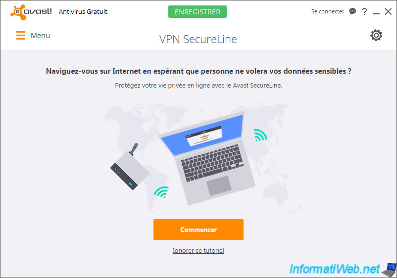 avast your ip address is visible