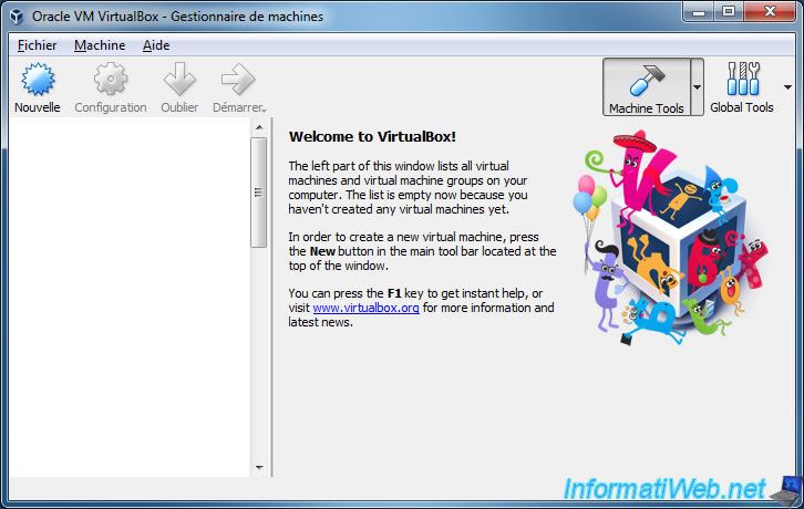 VirtualBox - Manage your virtual machines from another PC running