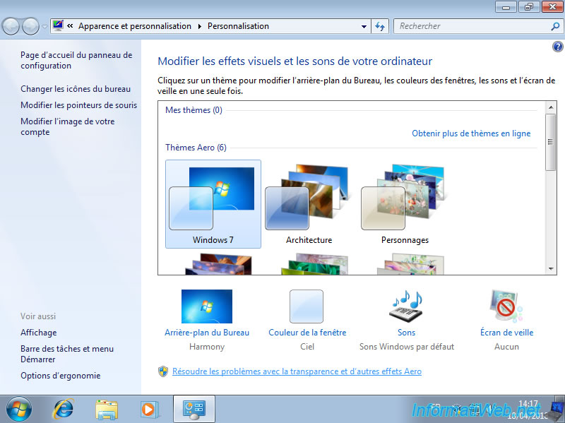 VirtualBox - Enable the aero of Windows 7 - Virtualization
