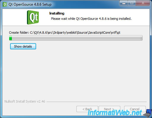 Install and configure Qt Creator to develop with QT4 - QT